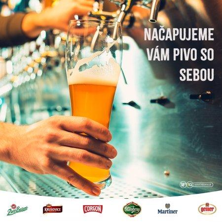 Načapujeme vám pivo so sebou