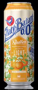 Zlatý Bažant Radler 0,0% Mandarínka - Jazmín Light