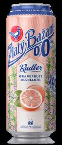 Zlatý Bažant Radler 0,0% Grapefruit - Rozmarín