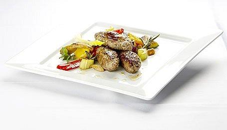 Kebabčeta so stredomorskou zeleninou
