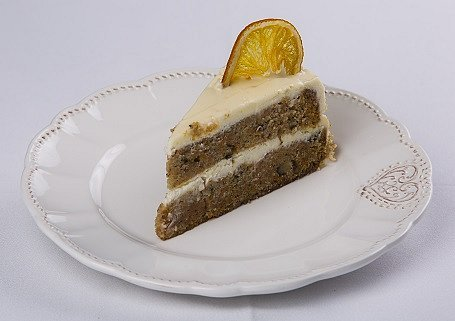 Torta z muškátovej tekvice s pomarančovým krémom